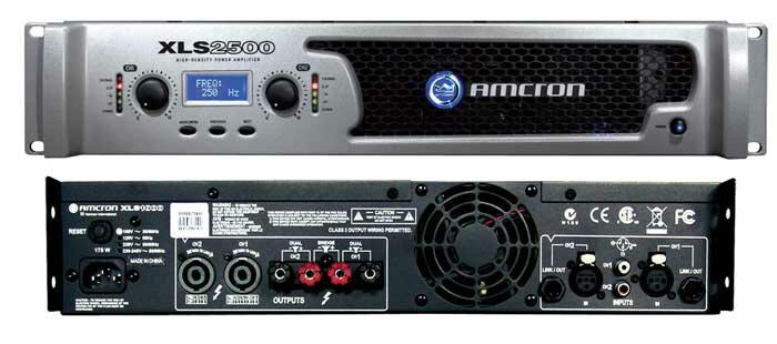 AMCRON XLS2000 パワーアンプ 650W+650W(4Ω)