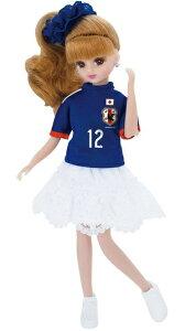 6月12日発売予定 リカちゃん サッカー日本代表チームモデル リカちゃん 2014