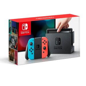 予約 2017年3月3日発売予定 Nintendo Switch Joy-Con(L) ネオン…