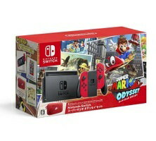 2017年10月27日発売予定!Nintendo Switch スーパーマリオ オデッセイセッ…