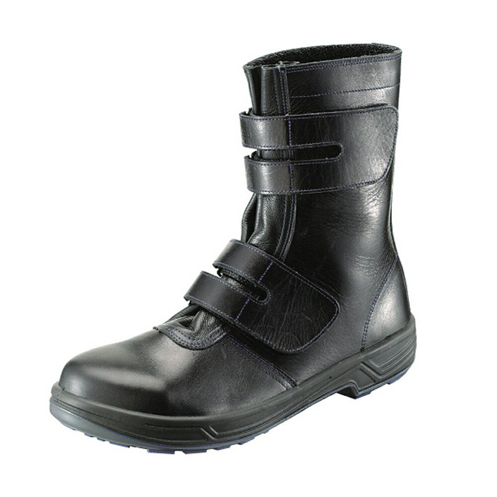 福袋ワンランク上の履き心地!高級モデル!「SX3層底」を搭載!袋ベロ採用で靴の中への異物の浸入を防ぐ。フィット感と抜群の通気性。・8538黒長編上靴