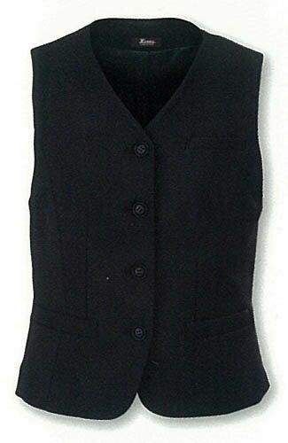 ベスト スーツ レディース 通年用女子 事務服 制服ユニフォーム ジーベック(XEBEC)50%OFFの定番ベ...