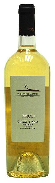 ワイン, 白ワイン 2018()750ml VIGNETI DEL VULTURE PIPOLI GRECO FIANO