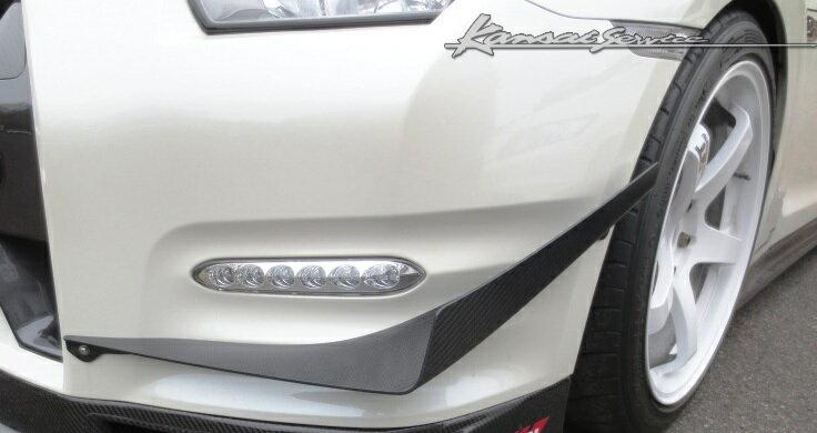 外装・エアロパーツ, フロントスポイラー Kansai GT-R R35 MY11-15 1011-1606