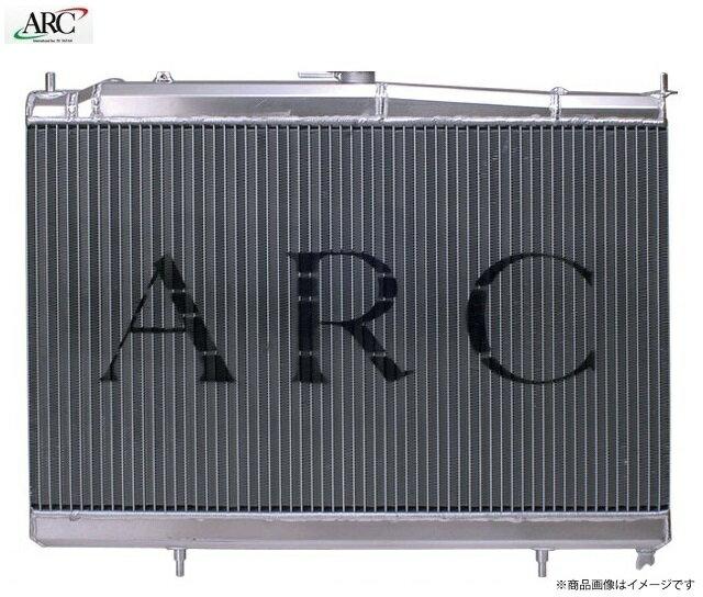 ARC オールアルミ製ラジエターインプレッサ GRB EJ20スーパーマイクロコンディショナー MT車用 「コアタイプ:SMC36」:K-ワークス