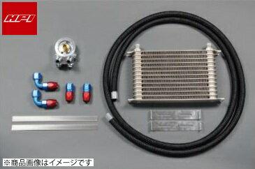 HPI 【エッチピーアイ】 エンジンオイルクーラーキットエレメント純正位置(サンドイッチ)タイプ [汎用品]ドロンカップタイプコア:10段 (L300xH140xW50) Oリングサイズ:φ65/φ70共通