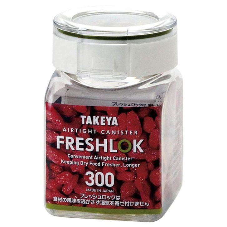 フレッシュロック 角型 300ml 2個組 密封 保存容器 タケヤ化学 食品 プラスチック 密閉 プラスチック保存容器 ストッカー