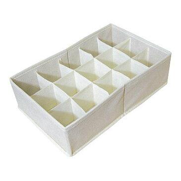 [東洋ケース] チェスト 仕切りBOX 仕切りボックス CS-A [15マスタイプ] 収納ボックス 収納BOX インナーボックス 靴下 布製 下着 せいとん 整頓[ 5500円以上 送料無料 ]
