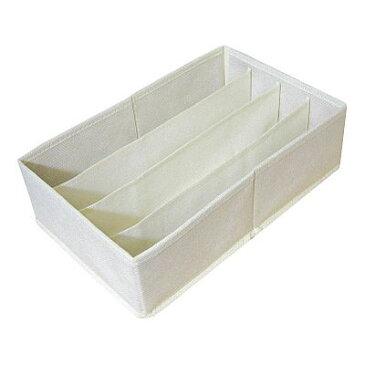 [東洋ケース] チェスト 仕切りBOX 仕切りボックス CS-B [4マスタイプ] 収納ボックス 収納BOX インナーボックス 靴下 布製 下着 せいとん 整頓[ 5500円以上 送料無料 ]