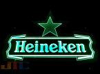 Heineken 星 ハイネケン LED 3D ネオン看板 ネオンサイン 広告 店舗用 NEON SIGN アメリカン雑貨 看板 ネオン管