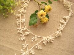綿ケミカルレース、アクセサリーレース(木の実)5ヤード