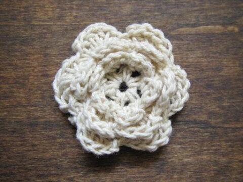 手編みのモチーフ