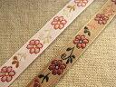 お花柄のチロリアンテープ、チロルテープ(エイミーフラワー)