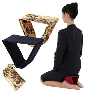 折りたたみ コンパクト 正座いす【322024】