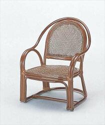 【送料無料】(アームチェアーY-1000C)ブラウン籐籐家具ベンチ椅子イスアジアンリビングルーム籐(ラタン)製輸入品完成品【smtbーMS】