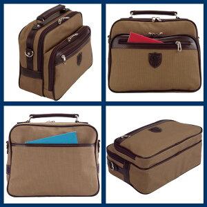 日本製豊岡製鞄ショルダーバッグ帆布コートメンズB5横型21cm仕様