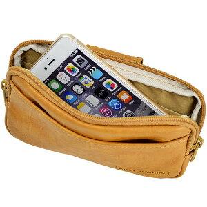 ベルトポーチスマホポーチメンズ薄マチ薄型スマートフォンスマホ日本製国産豊岡製鞄#25865仕様3