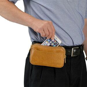 ベルトポーチスマホポーチメンズ薄マチ薄型スマートフォンスマホ日本製国産豊岡製鞄#25865仕様7
