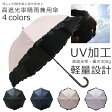 レディース 傘 完全遮光 晴雨兼用 日傘 わずか300gの軽量タイプ ネイルガード付き 全4色