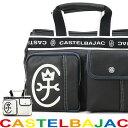 【全商品クーポン配布中】トートバッグ メンズ ブランド CASTELBAJAC カステルバジャック ドミネシリーズ ドライビングトート ミニトート ファスナー付き A4未満 横型 軽量 バッグ メンズバッグ プレゼント 鞄 かばん カバン bag (24511) 送料無料 men's