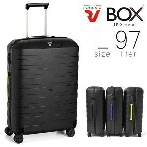 スーツケース メンズ キャリーケース RONCATO ロンカート BOX JP Special 旅行 出張 97L Lサイズ ハード ファスナータイプ 縦型 TSAロック 4輪 軽量 メンズバッグ ブランド プレゼント 鞄 かばん カバ