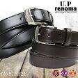 メンズベルト メンズ UP renoma レノマ Belt ベルト 紳士ベルト 本革 牛革 小物 ベルト ブランド プレゼント ランキング ギフト