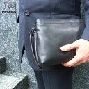 【全商品クーポン配布中】 セカンドバッグ メンズ 本革 ブラ
