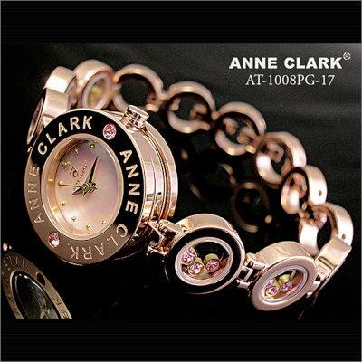 【ラッピング無料】腕時計 ANNE CLARK Pinkgold 天然シェル ピンク 文字盤 [AT1008-17PG] アンクラーク レディース 腕時計 時計 婦人 レディース ブレスウォッチ かわいい リストウォッチ 防水 ANy07kpl