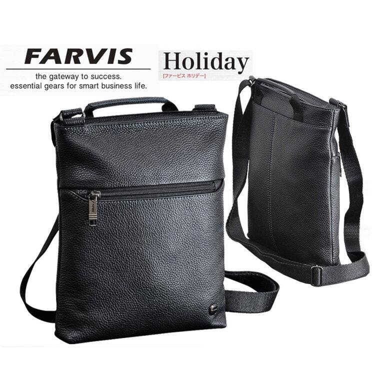 メンズバッグ, ショルダーバッグ・メッセンジャーバッグ FARVIS4-365 HOLIDAY SOFT LEATHER
