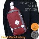【ボディバッグ メンズ】【全国送料無料】HEART MADE FACTORY(ハートメイドファクトリー) MULTI STYLISH ボディバッグ FY-0899/ボディーバッグ/ボディバッグ/ワンショルダー/タブレットバッグ