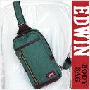 【ボディバッグ ワンショルダー】EDWIN(エドウイン) ボディバッグ 0411290 ボディバッグ メンズ ボディーバッグ メンズ レディース ワンショルダーバッグ