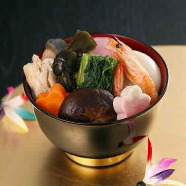 【こだわりの国産素材9種入り】かば田のお雑煮 二人前 セット