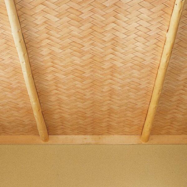 【 壁紙 のり付き 】 壁紙 のりつき クロス 和 網代 あじろ 防かび サンゲツ FE-1529