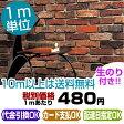【壁紙 のり付き】 レンガ/壁紙/クロス ☆ルノン☆ RH-9392