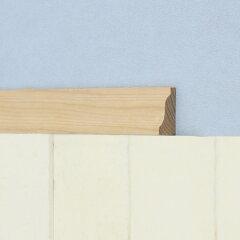 モールディング[クラウン(廻り縁) H3244 ベイツガ 無塗装 14.3mm×31.0mm×長さ約3.6m(1本...