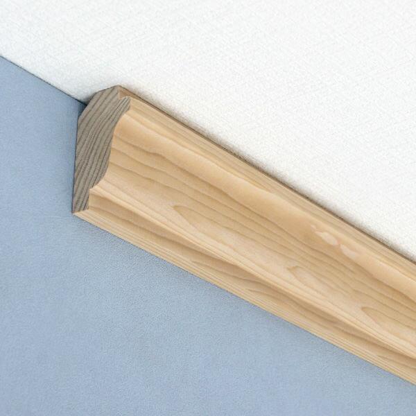 モールディング[クラウン(廻り縁) H3249ベイツガ 無塗装 30.2mm×57.1mm×長さ約1.8m(1本単位で発売)] 【メーカー直送代引き不可】
