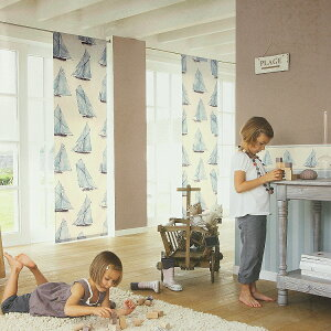 NAUTICby Texdecor(France)生地 輸入 フランス製 輸入 ファブリック Imported Fabric NAUTIC...