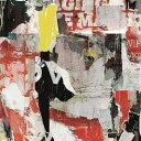 はがせる 壁紙 シール wallshoppe(ウォールショップ) / Sidewalk-Red 貼ってはがせる シール 壁紙 リメイクシート 壁紙屋本舗 3