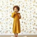 【1ロール + 道具セット】 賃貸OK 人気 はがせる 輸入壁紙 rasch / ラッシュ 531701(1ロール(53cm×10m) + 道具セット)フリース(不織布)【国内在庫】の写真