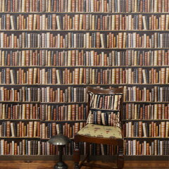 KOZIEL Imported Wallpaper 輸入 壁紙【ジェネレーション天国で紹介された壁紙】本棚の壁紙 輸...