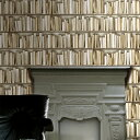 KOZIEL Imported Wallpaper 輸入 壁紙図書館の本棚柄 輸入壁紙 フランス製 KOZIEL / コジエル...