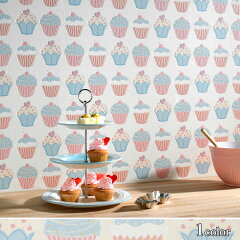 Contourby Graham&Brown(Britain)CupcakeImported Wallpaper【朝ズバッ! 9月12日に紹介された...