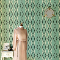 Deco Diamondby Graham&Brown(Britain)Imported Wallpaper【朝ズバッ! 9月12日に紹介された壁...