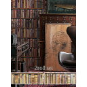 LIBRARYby ANDREW MARTIN(Britain)Imported Wallpaper輸入壁紙 イギリス製 LIBRARY / アンドリ...