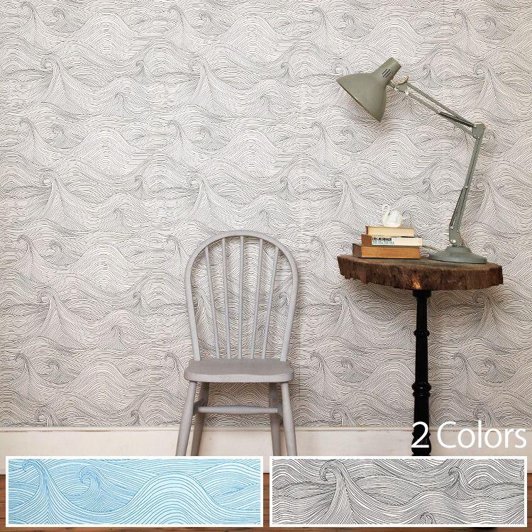 壁紙・装飾フィルム, 壁紙  Seascape 1(52cm10m)