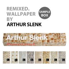 サンプルボックス輸入壁紙 オランダ製 REMIXED WALLPAPER / アーサー・シュレンク (1枚(48.7cm×79.7cm)、8枚入りで販売)フリース(不織布)壁紙 【あす楽対応】