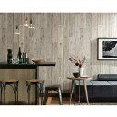壁紙 クロス / 白い木目 ホワイト・グレーウッド SRE-7526