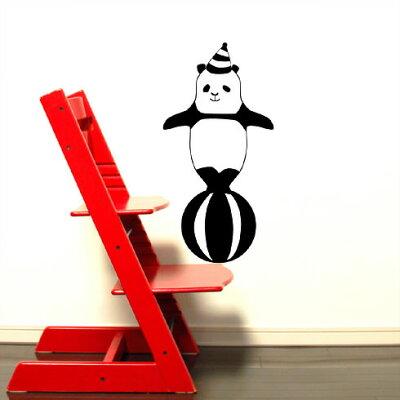 【送料無料・即日発送可能】本舗オリジナルステッカーたまのりパンダ「Cheerful Panda」FP-0072E3 全16色【すぐ発送可能!】【POSH】※メーカー直送商品