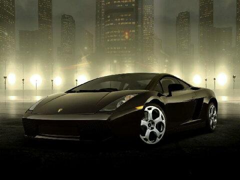 キッズ こども部屋 乗り物 のりものの壁紙 輸入 カスタム壁紙 PHOTOWALL / Dark Lamborghini (e6326) 貼ってはがせるフリース壁紙(不織布) 【海外取り寄せのため1カ月程度でお届け】 【代引き不可】