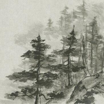 カスタム壁紙の壁紙輸入 カスタム壁紙 PHOTOWALL / Sumi Treetops (e50044)貼ってはがせるフリース壁紙(不織布)【海外取り寄せのため1カ月程度でお届け】【代引き不可】水墨画 森 林